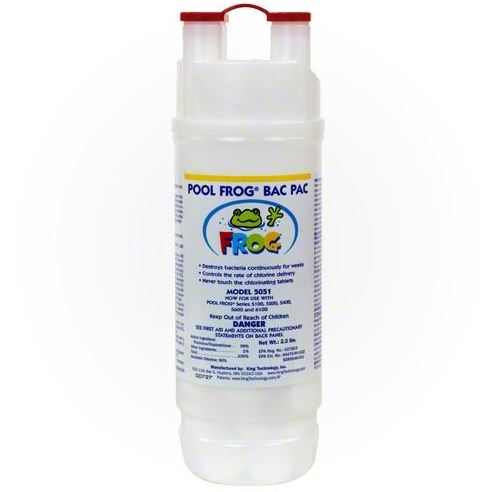 Pool Frog Chlorine Bac Pac - 01-03-5880 - Frog Systems