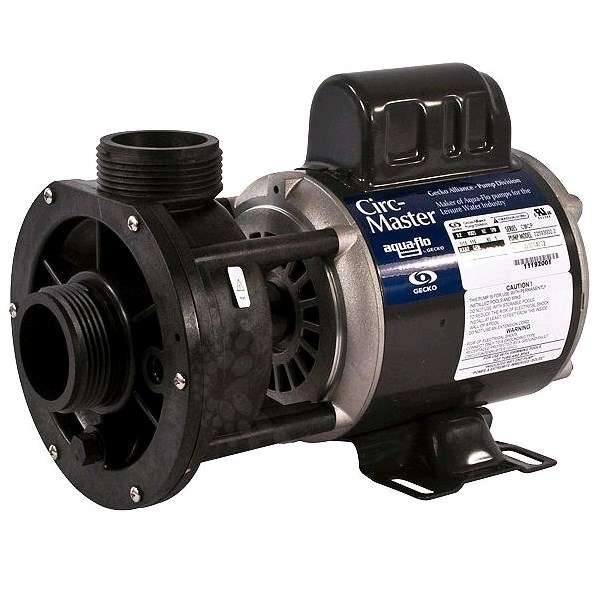 Aqua Flo Circ Master 1/15 HP 115 Volt Center Discharge Pump - Spa Circulation Pumps