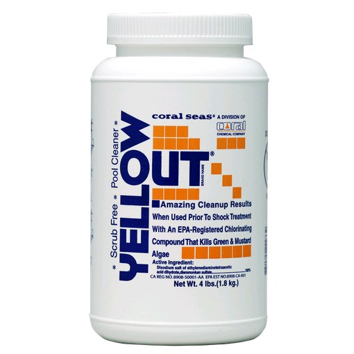 Yellow Out® 4lb Bottle Case of 8 - Algaecides