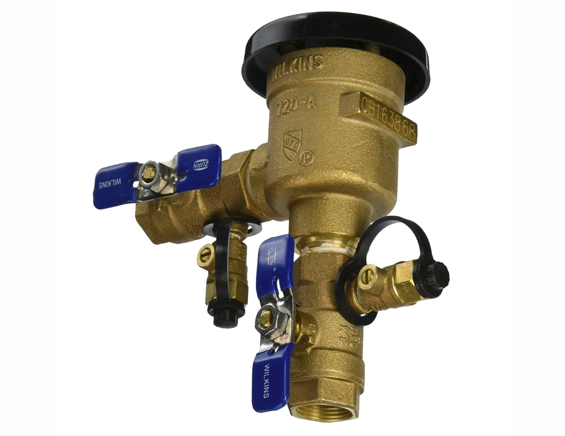 1 PRESSURE VACUUM BREAKER - BackFlow Prevention