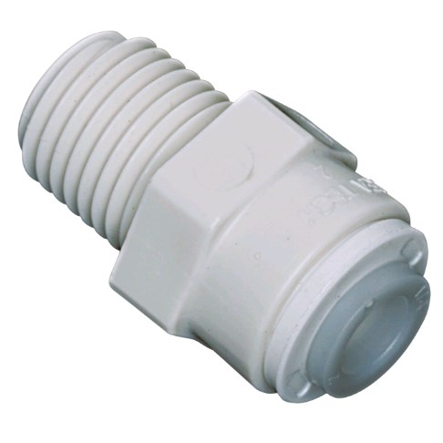 Male Adapter 1/4 OD X 1/4 MPT Watts - 1001B-0404 - Quick Connect Male Adapter