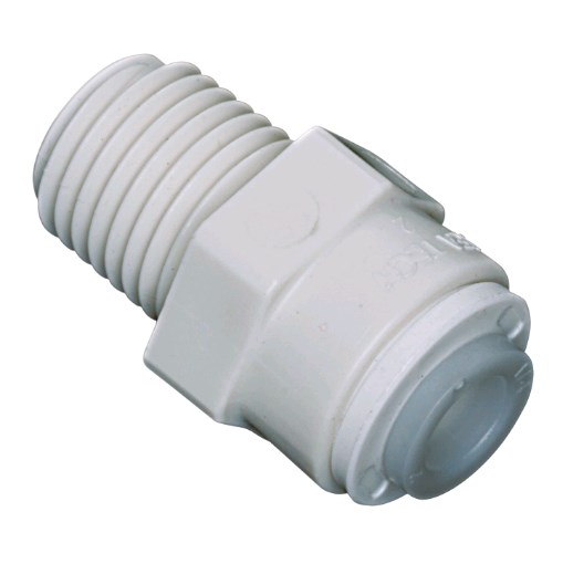 Male Adapter 3/8 OD X 1/4 MPT Watts - 1001B-0604 - Quick Connect Male Adapter