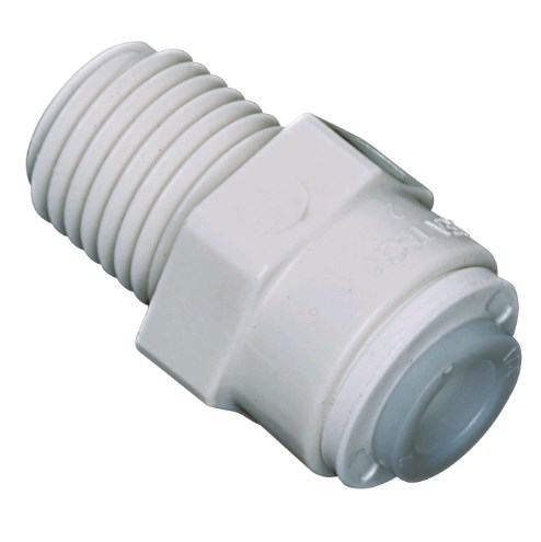 Male Adapter 3/8 OD X 3/8 MPT Watts - 1001B-0606 - Quick Connect Male Adapter
