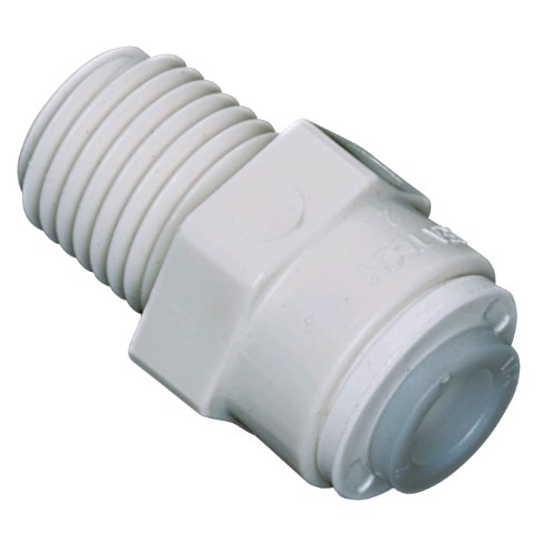 Male Adapter 3/8 OD X 1/2 MPT Watts - 1001B-0608 - Quick Connect Male Adapter