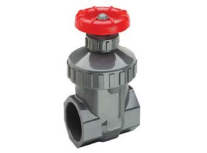 SPEARS 1-1/2 PVC SCHEDULE 80 SOCKET GATE VALVE - 2012-015 - Gate Valves