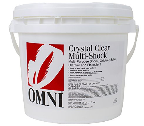 Omni Crystal Clear Multi-Shock® 25lb Pail - Shocks