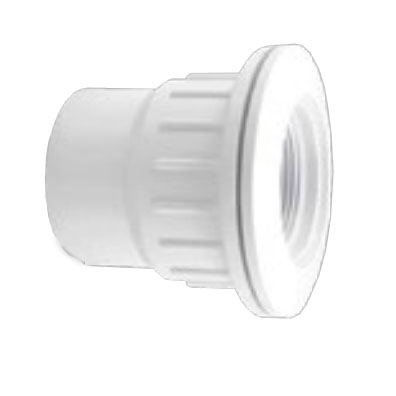 SUCTION FITTING BULHEAD WHITE - Suction Fitting