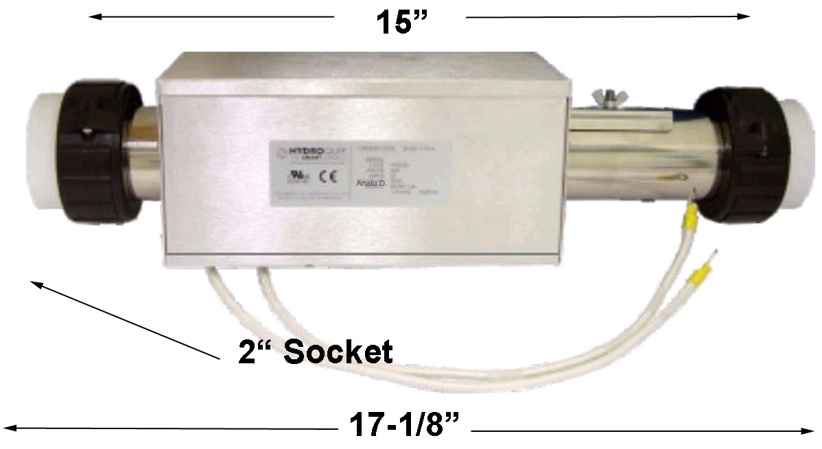 Cal Spa XL 5.5KW - 26-0011-7S-K - Heaters, Replacement