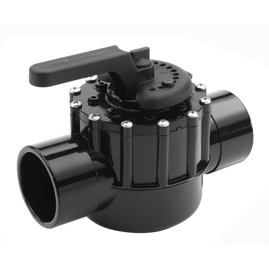 2-Port Pentair 2-1/2 Socket x 3 Spigot CPVC Valve - Multiport Valves