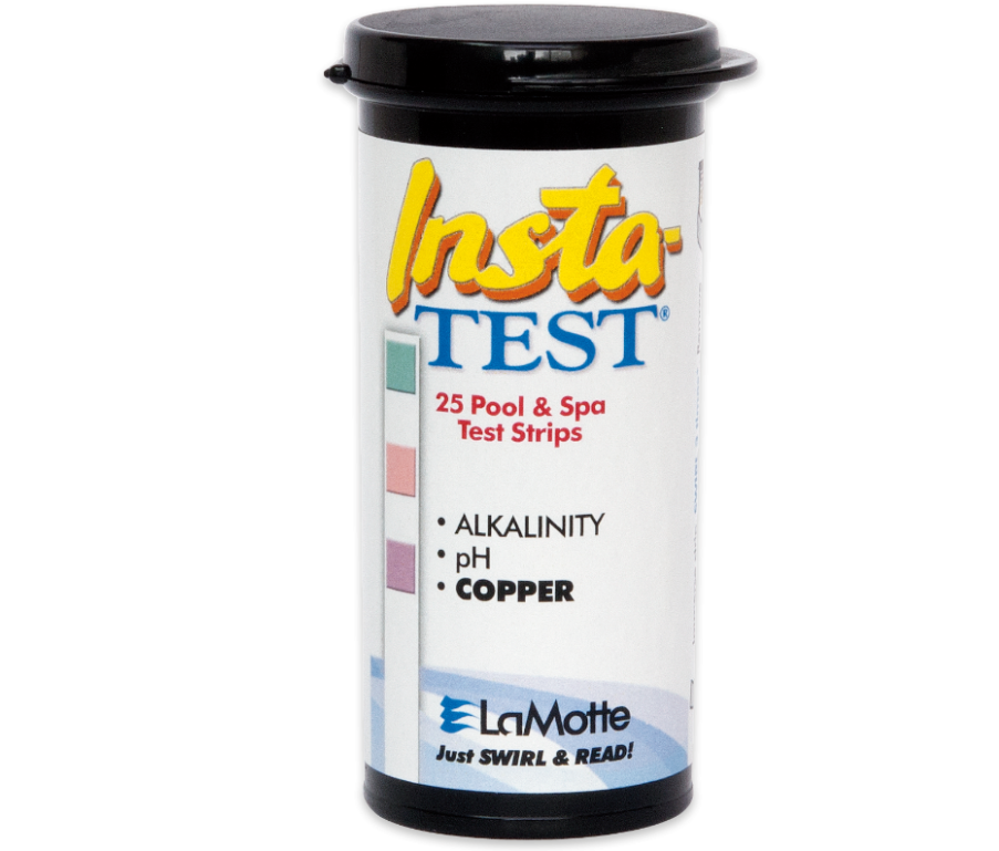 Insta-TEST® Copper, pH, and Alkalinity Test Strips 25 Strips/Bottle, 12 Bottles/Case - 3001-G - Test Strips