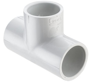 1/2 Tee Socket PVC Schedule 40 - All Fittings, Schedule 40 - Filtered By Attribute
