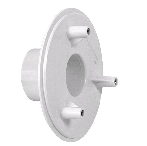4 Bulkhead Adapter 1-1/2 Pipe Insider White - 415SI101 - Suction Fitting