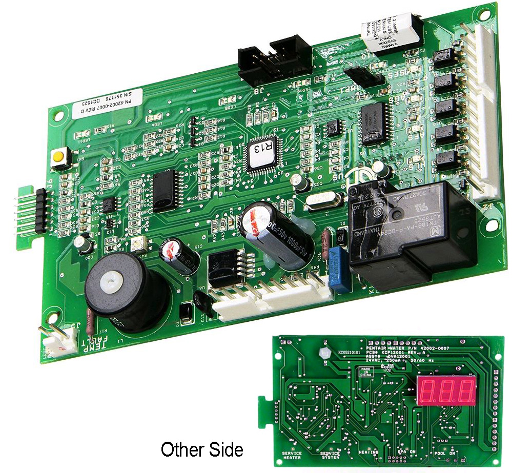 43- 42002-0007S Control Board Kit, MasterTemp, Max-E-Therm - Pentair MasterTemp Heater Parts