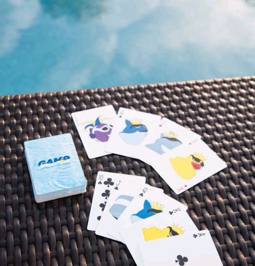 WATERPROOF PLAYING CARDS - GAME Products