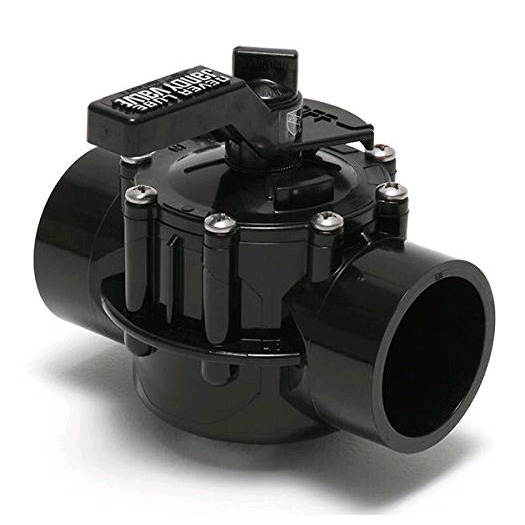2-Port Jandy 2 Socket x 2-1/2 Spigot - 4716 - Multiport Valves
