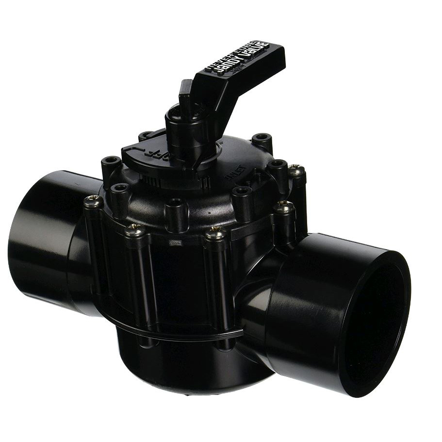 2-Port Jandy 2-1/2 Socket x 3 Spigot - 4718 - Multiport Valves