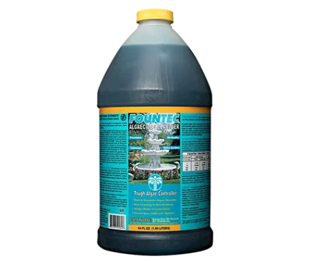Fountec® Green Algae Remover 64oz Bottle - Case of 8 - Algaecides