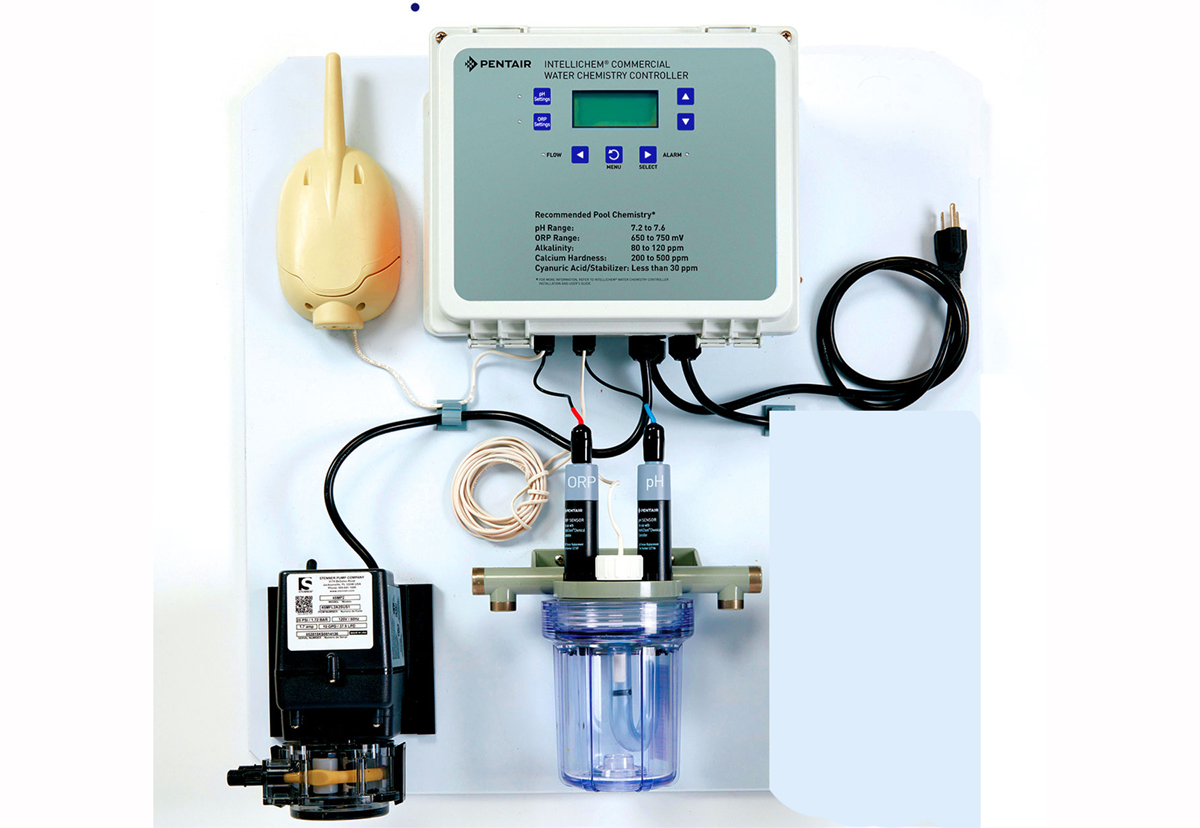INTELLICHEM ® Commercial  1 Pump System - Pentair Chemical Automation Systems