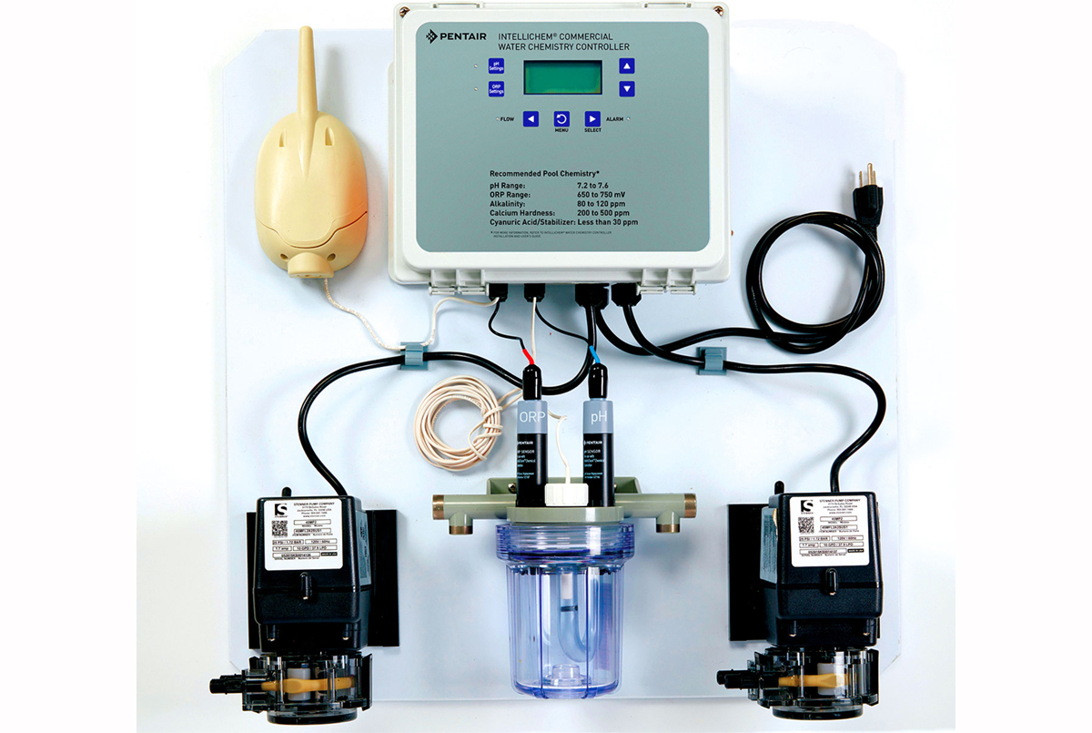 INTELLICHEM ® Commercial 2 Pump System - Pentair Chemical Automation Systems