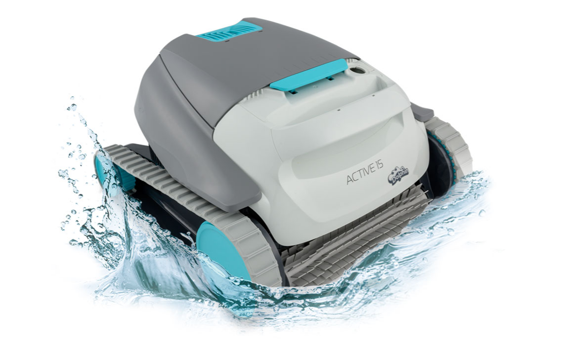 Dolphin Active 15 Cleaner Inground Robotic - Robotic