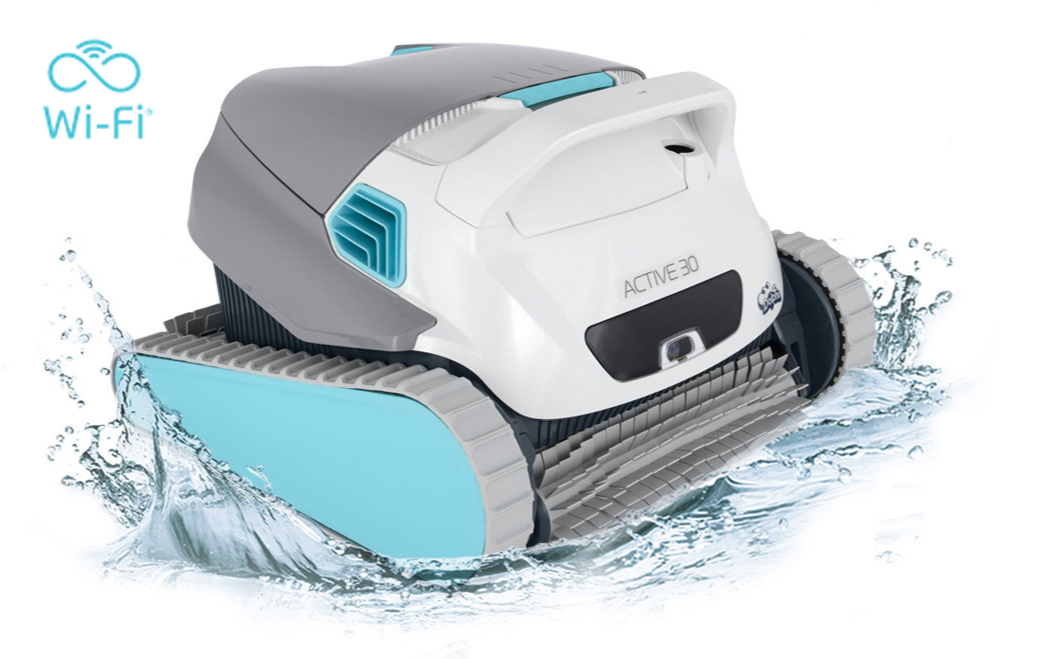 Dolphin Active 30 Robotic Pool Cleaner w/WiFi - Robotic
