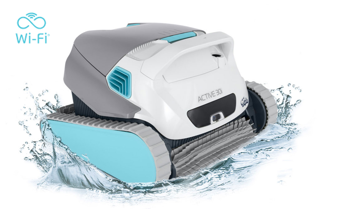 Dolphin Active 30i Robotic Pool Cleaner w/WiFi - Robotic