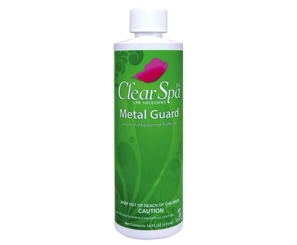 CLEAR SPA Metal Guard Pint Bottle Case of 12 - Stain & Scale/Sequestering Agent