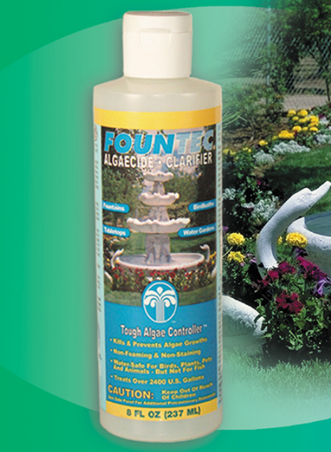 Fountec® Green Algae Remover 8oz Bottle Ea - Algaecides