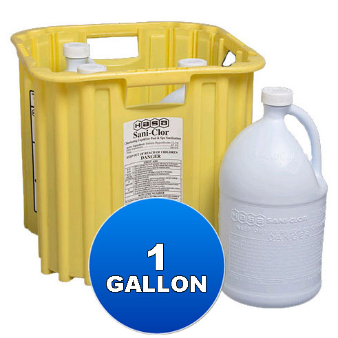 1 Gallon Liquid Chlorine 12.5%, Hasa - Bulk Chemicals