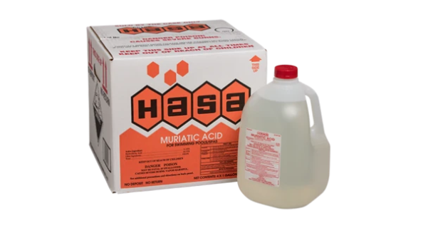 Acid, 1 Gallon Hasa, No Deposit Required - Disposable Bottle - Bulk Chemicals