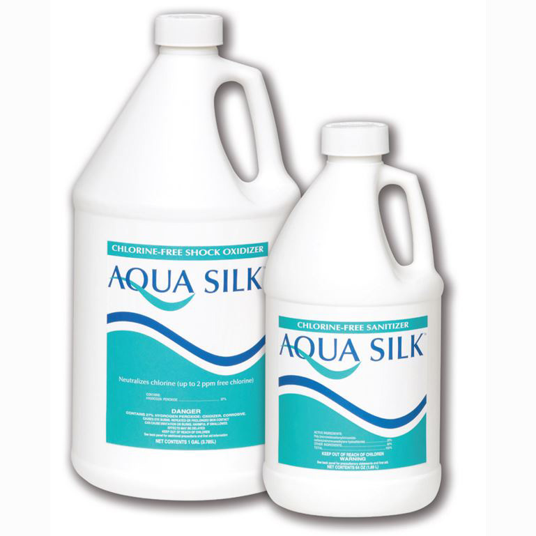 AQUA SILK SANITIZER 4X64OZ - Advantis Aqua Silk