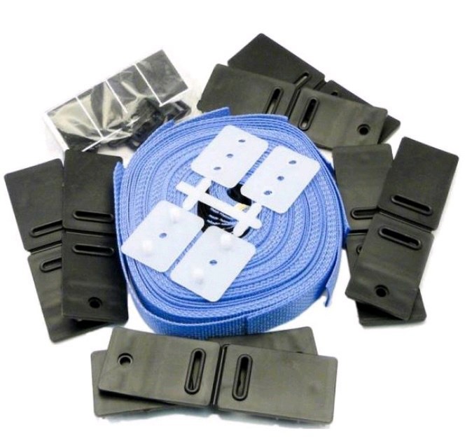 STRAP KIT 8 PIECE - Solar Cover Accessories