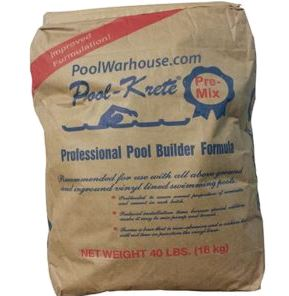 Pool-Krete® for Vinyl Lined Pools 40lb Bag (50 bags per pallet) - Pool Krete