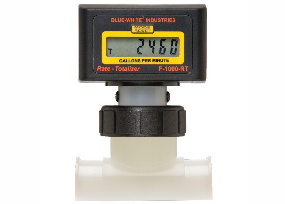 Flowmeter, Digital w/Saddle 4