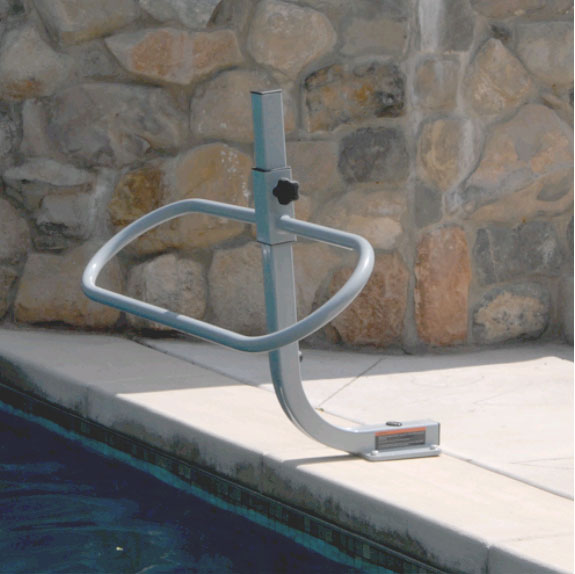 POOL-UP BAR - With On-Deck Anchor System BOXES A, F - SwimShape