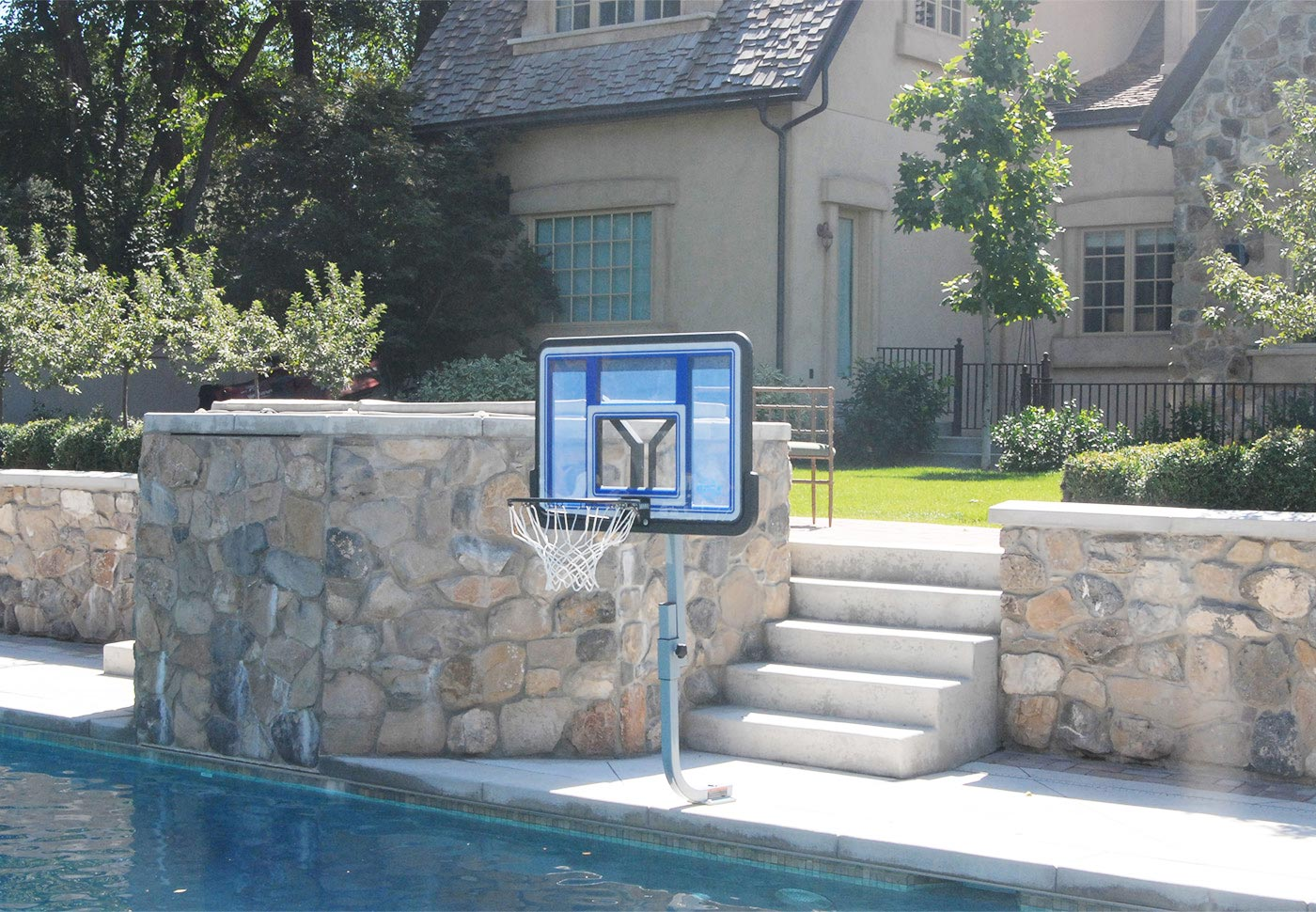 QUIKFIRE BASKETBALL - With On-Deck Anchor System BOXES A, C, D - SwimShape