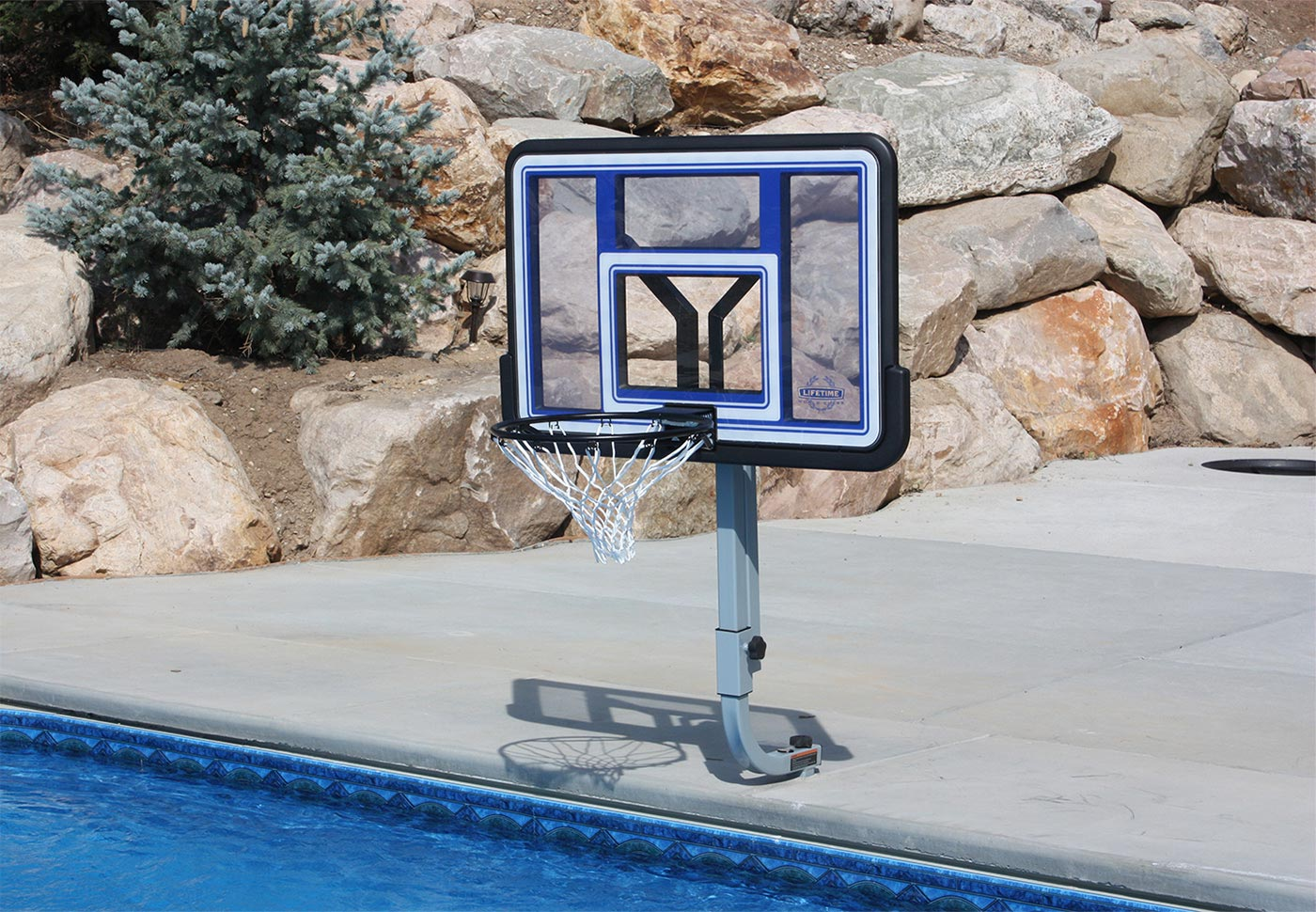 QUIKFIRE BASKETBALL With In-Deck Anchor System BOXES B, C, D, G - SwimShape