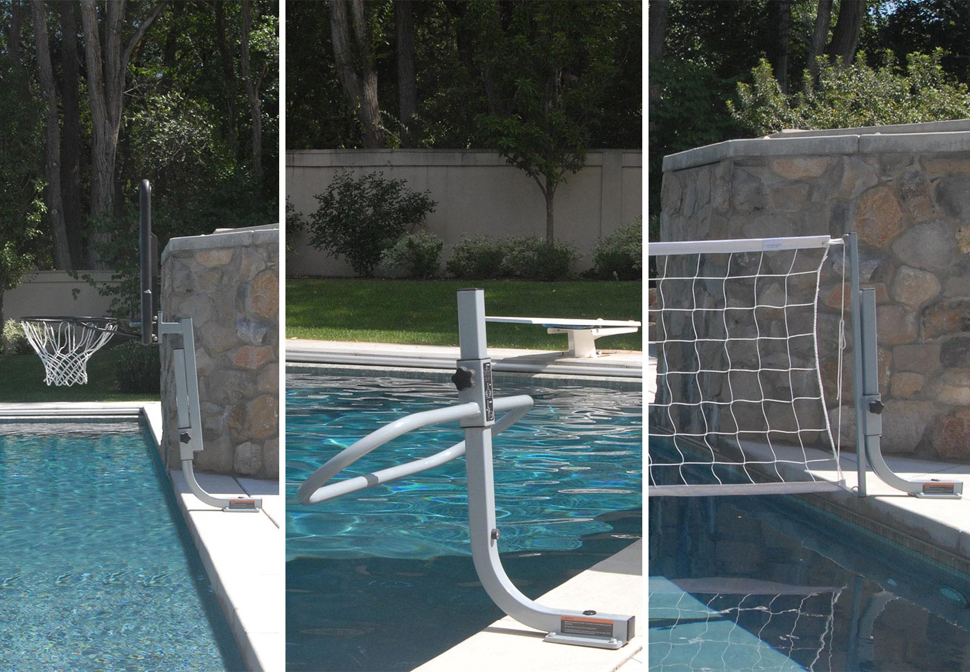 TRIPLE PLAY COMBO - With On-Deck Anchor System BOXES A, A, C, D, E, F - SwimShape