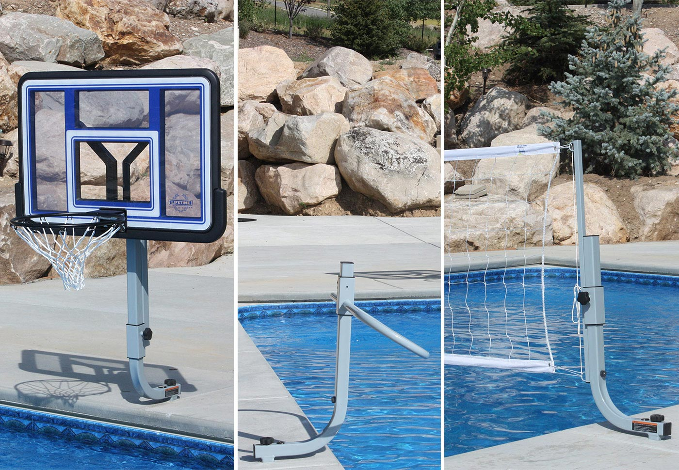 TRIPLE PLAY COMBO - With In-Deck Anchor System BOXES B, B, C, D, E, F, G, G - SwimShape