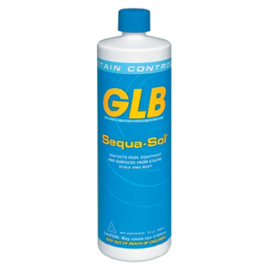 GLB Sequa-Sol® Sequestering Agent Quart Bottle, Case of 12 - Stain and Scale Prevent