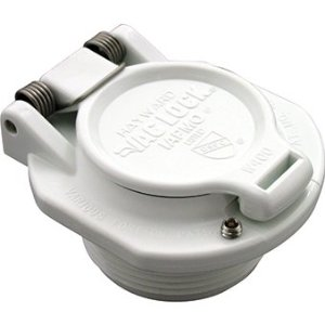 VAC LOCK SAFETY WALL WHITE - Auto Vac Accessories