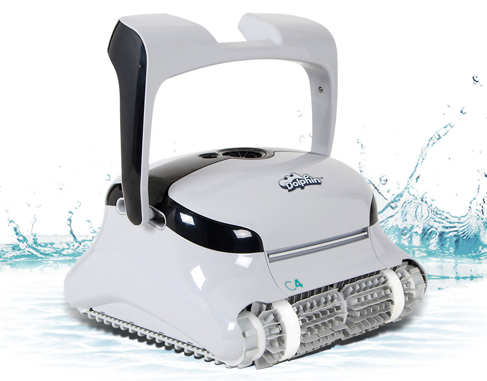 Dolphin C4 Robotic Pool Cleaner - Robotic