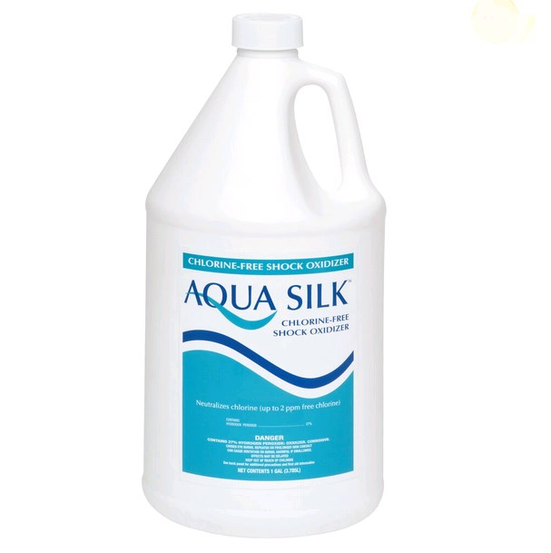 AQUA SILK SHOCK OXIDIZER 4XGAL - Advantis Aqua Silk