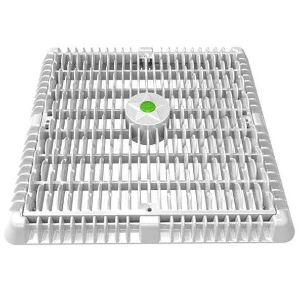 12x12 WAVE COVER V.R. & MUD FR - AquaStar Drains & Suctions