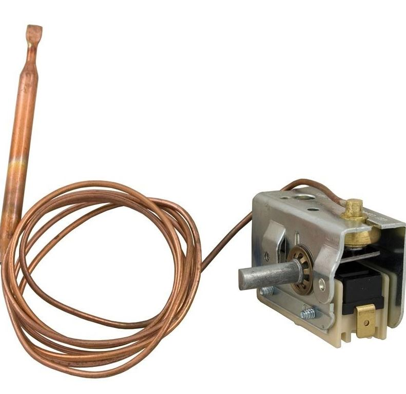 Mechanical Thermostat 36 inch capillary length x 1/4 inch bulb 275-2535