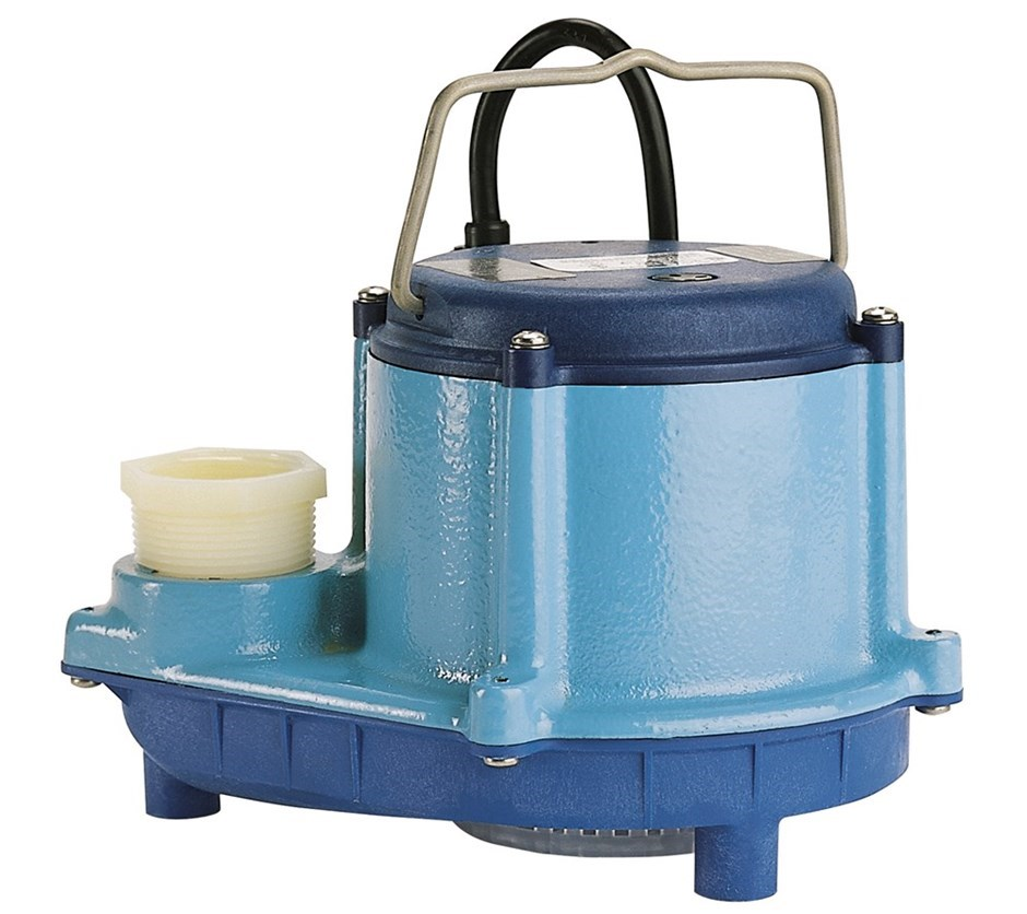 PUMP,54GPM 115V 8-CIM MANUAL - Submersible Drainers