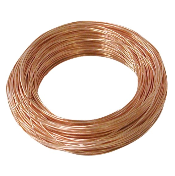Wire, 8 gauge Solid Bare Copper