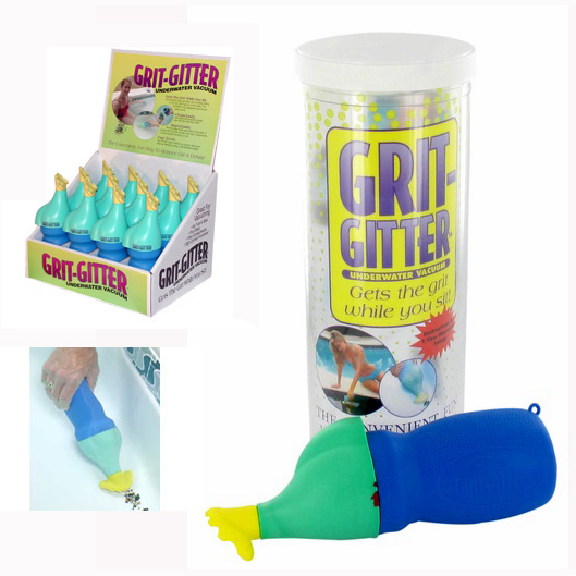 GRIT GITTER W/CLEAR DISPLAY EA - Pool Blaster Products