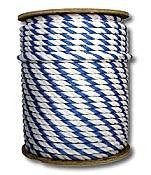 Rope, Blue and White 3/4
