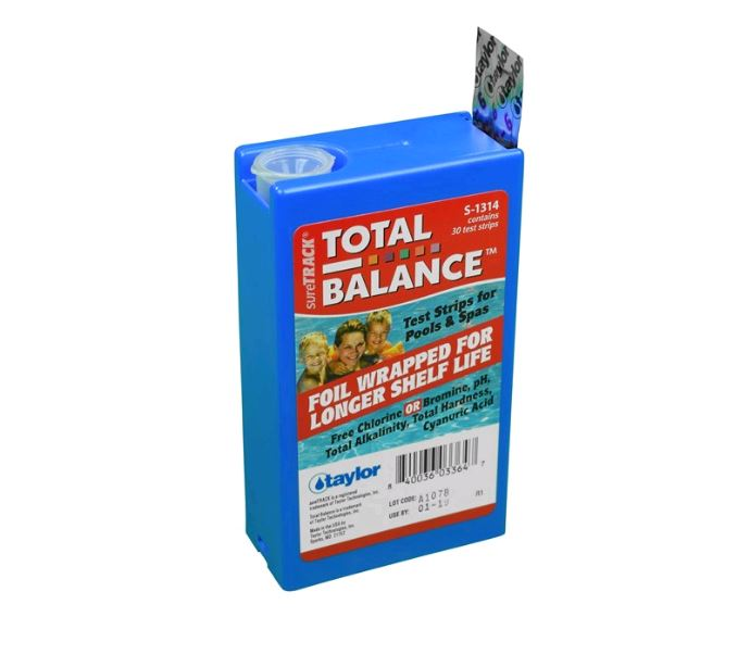 Taylor SureTrack Test Strips 6-way - S-1314